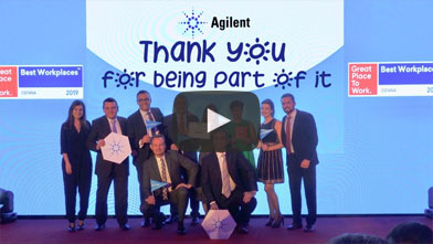 Agilent Spain certified as a Great Place To Work