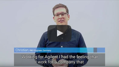 What do you like about working at Agilent? Christian